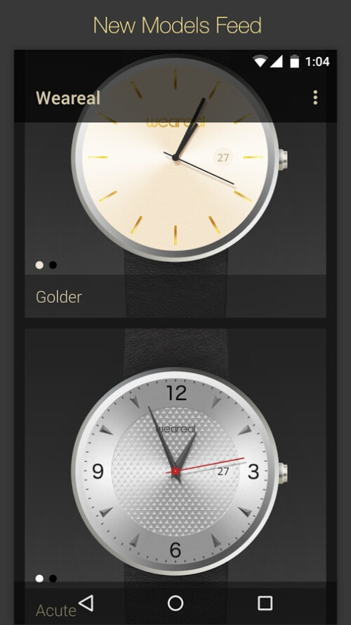 Weareal watch faces