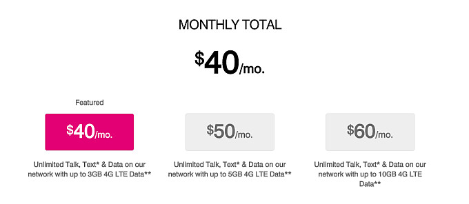 T-Mobile's prepaid plans now come with much more data at the