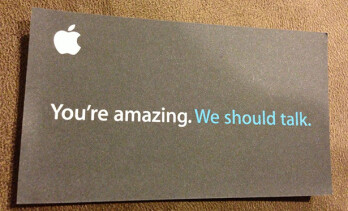 Young talent isn't as keen on talking with Apple recruiters.