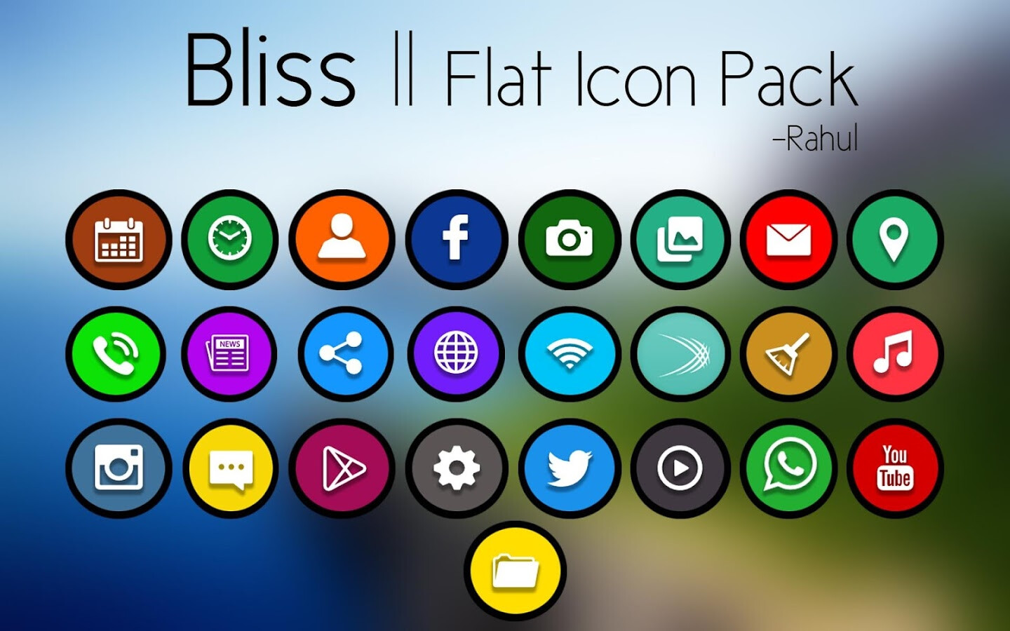 Best New Icon Packs For Android February 2016
