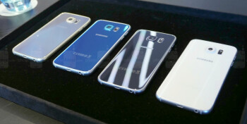 The GS6 comes in 4 bold colors – Gold Platinum, Blue Topaz, Black Sapphire, and White Pearl.