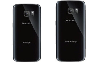 Here's what the Galaxy S7 and S7 edge look like from the back