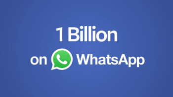 Welcome to the 1 billion users club, WhatsApp!