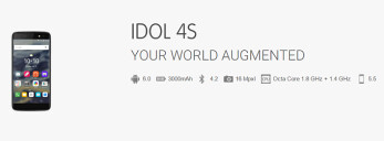 Alcatel OneTouch Idol 4 and 4S specs leaked in full by the manufacturer