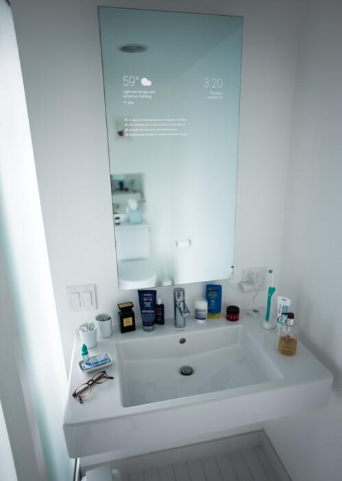 Max Braun's smart mirror