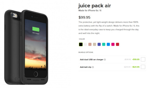 Mophie Juice Pack for the iPhone 6/6s