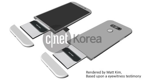 LG G5 based on eyewitness reports