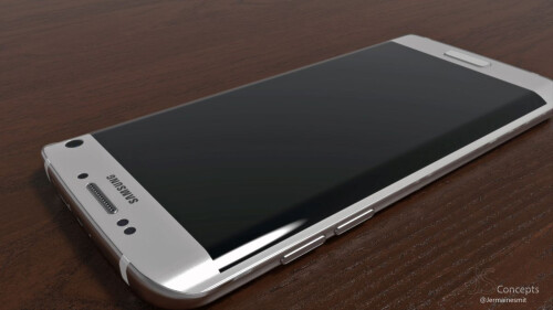 Galaxy S7 edge realistic concept by Jermaine Smit