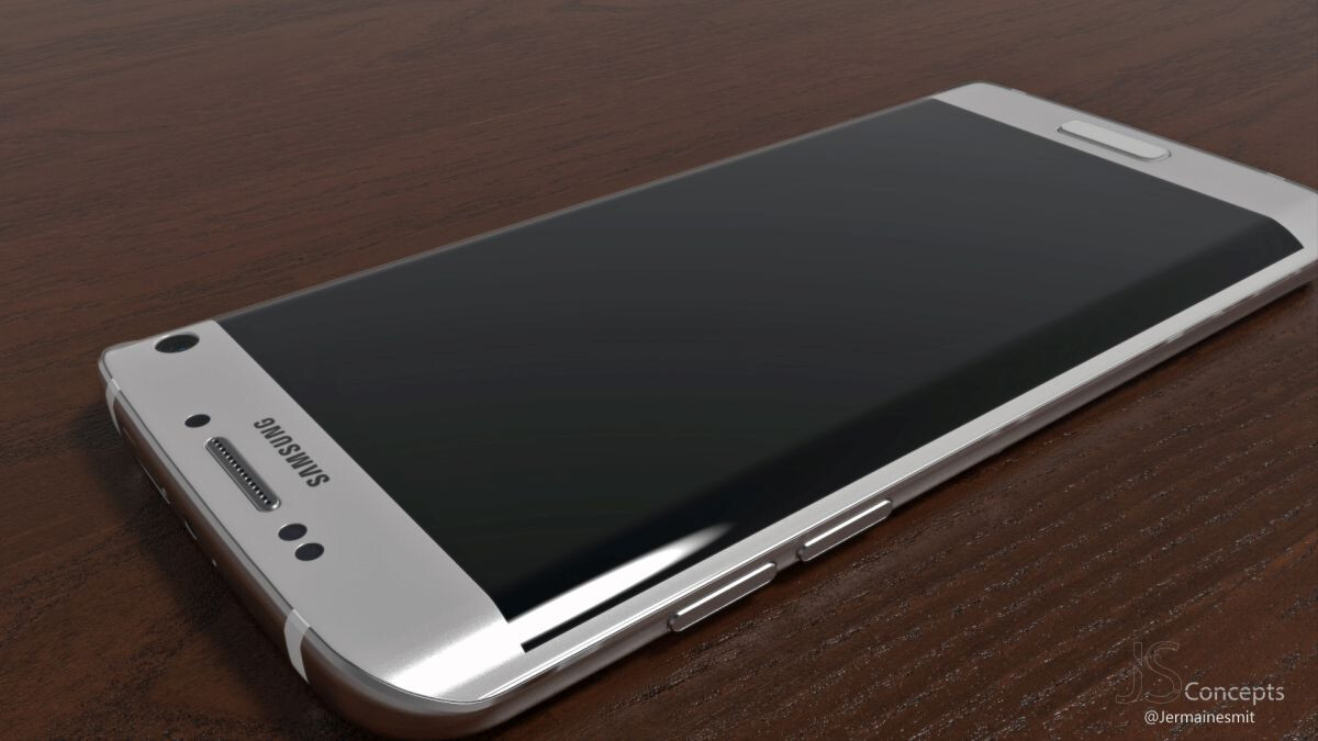 render pictures of the shiny samsung galaxy s7 the best