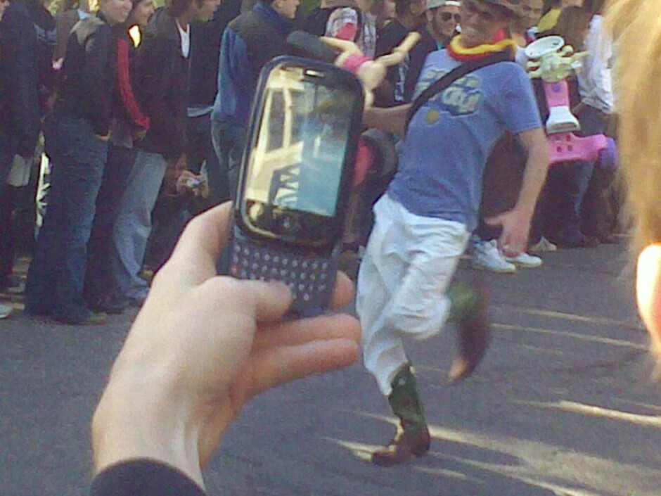 The Palm Pre at the Bring Your Own Wheel race - Pre gets caught in the wild, launches no earlier than May 16?
