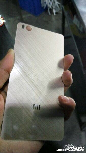 Alleged Xiaomi Mi 5 back plate