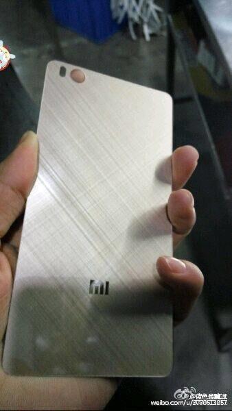 Alleged Xiaomi Mi 5 back plate