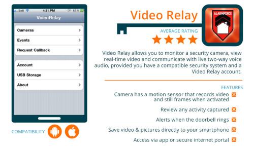 AlarmForce Video Relay
