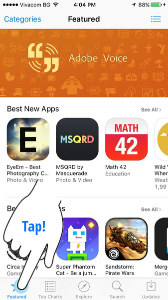 Clear App Store cache