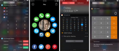 Expand usability with 3rd party widgets