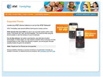 Keep track of your family members with AT&T's FamilyMaps