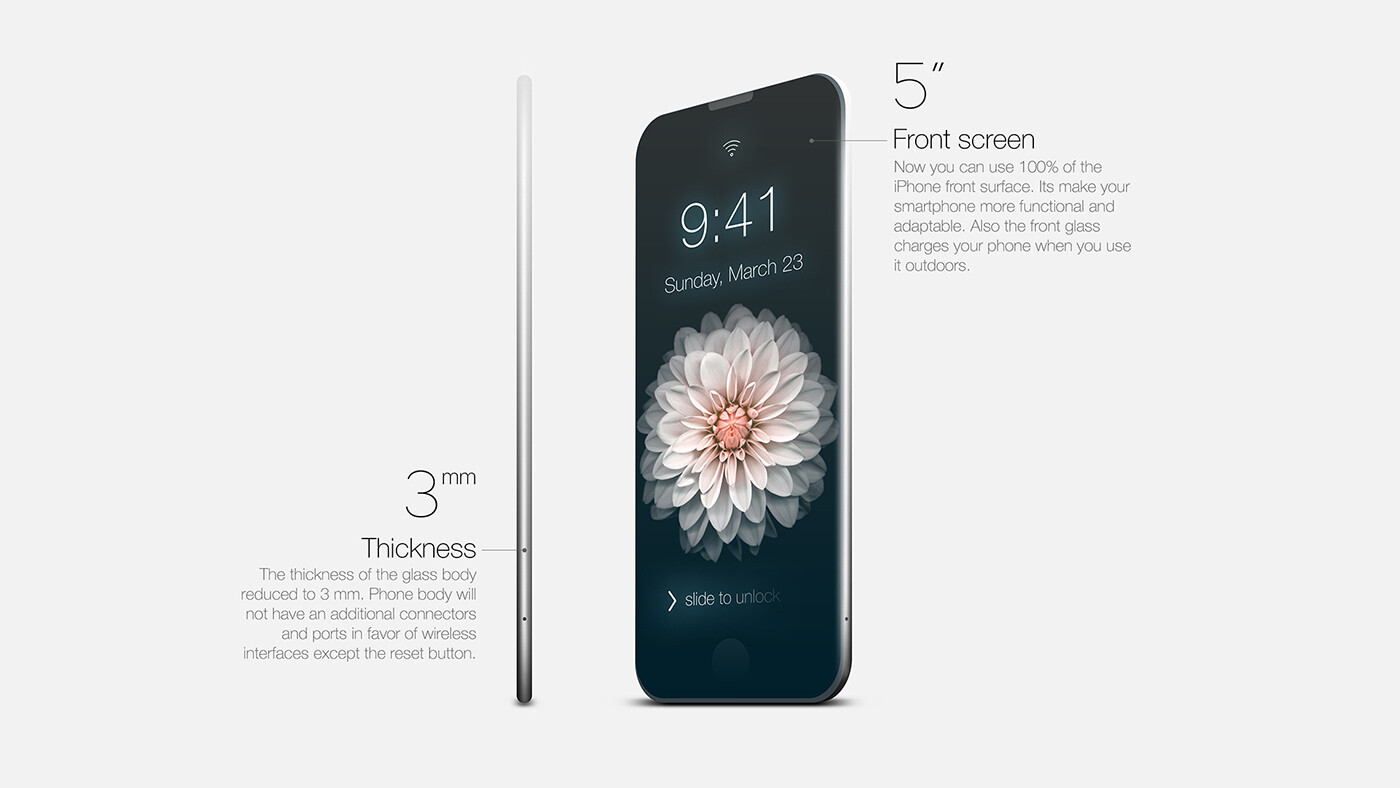 this iphone 7 dream concept is as fantastical as they get. Black Bedroom Furniture Sets. Home Design Ideas