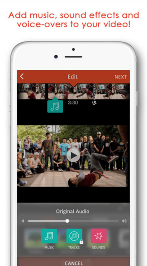 Save $1.99 by installing Videoshop for free from the Apple Store app