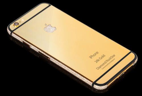 Diamond RockStar iPhone 6s by Goldgenie