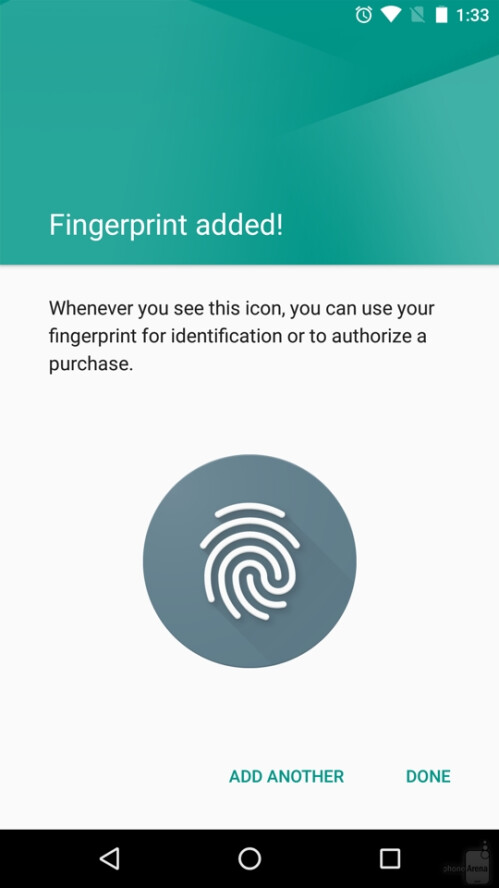 Fast and accurate fingerprint scanner
