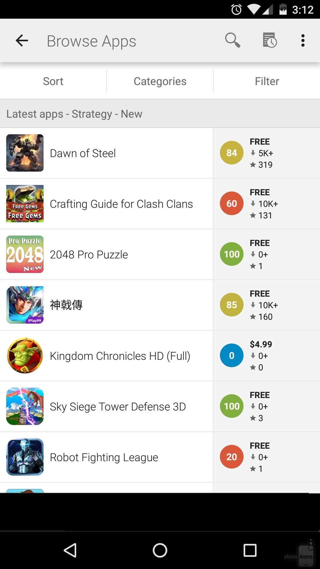 list of android apps on google play ~ Get APK Download