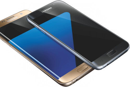 Samsung Galaxy S7 and S7 edge renders