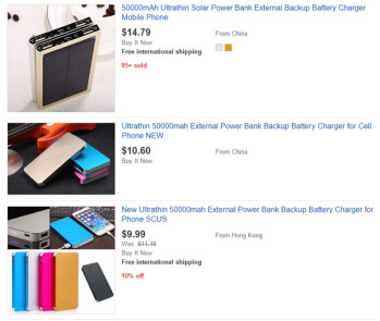 Certainly not 50,000mAh power banks