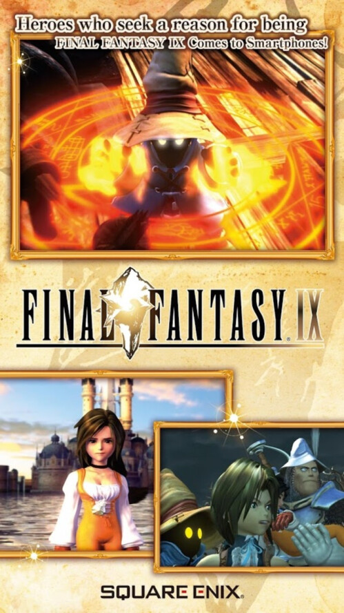 Enhanced Final Fantasy IX now available on iOS and Android, let the nostalgia kick in