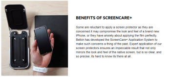 Buy a new Belkin screen protector at an Apple Store, and it