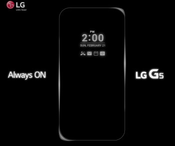 Officially confirmed: LG G5 features an Always On Display mode