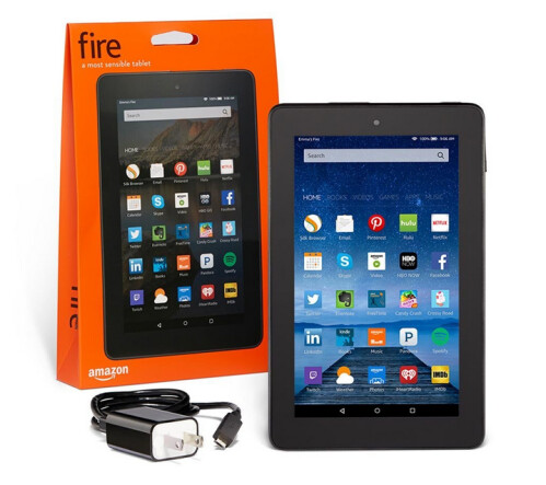 Amazon Fire Tablet is just $39.99 after a 20% discount