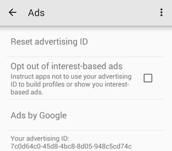 How to reset your advertising ID, and opt out of targeted ad tracking on Android, iOS and Windows phones