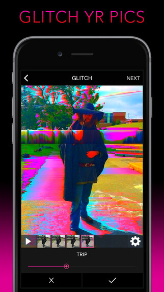 The art of destroying a photo: 4 of the best photo glitch apps for