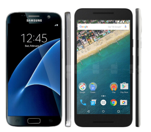 Samsung Galaxy S7 vs Nexus 5X