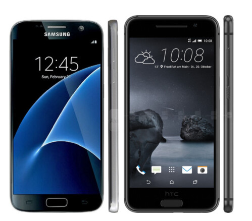 Samsung Galaxy S7 vs HTC One A9