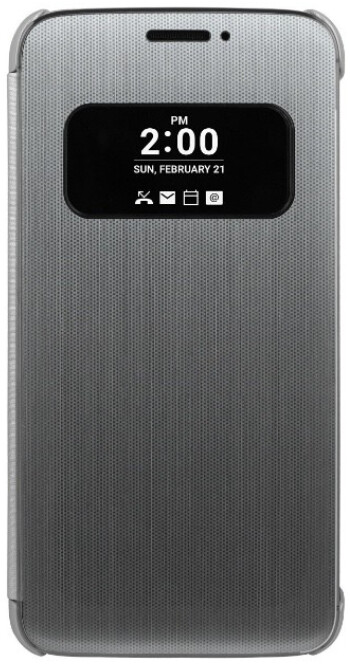 LG introduces its Quick Cover case for the LG G5 - LG shows off Quick Cover case for LG G5, confirms metal build for the new flagship