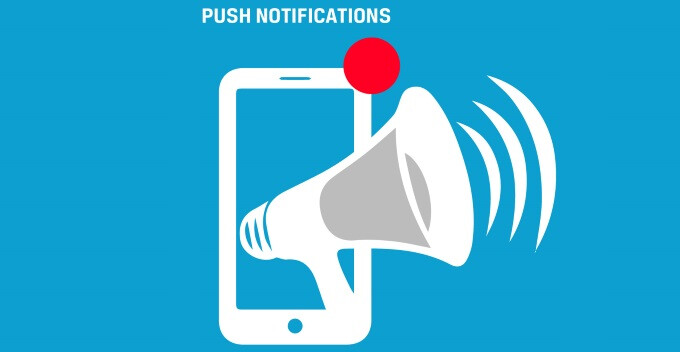 Did you know: over 50% of app users find Push notifications so annoying!
