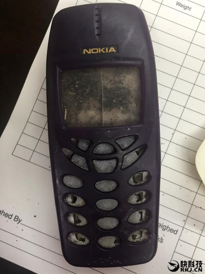 After more than a decade, a lost Nokia 3350 handset is found - Nokia 3350 handset discovered more than ten years after it goes missing