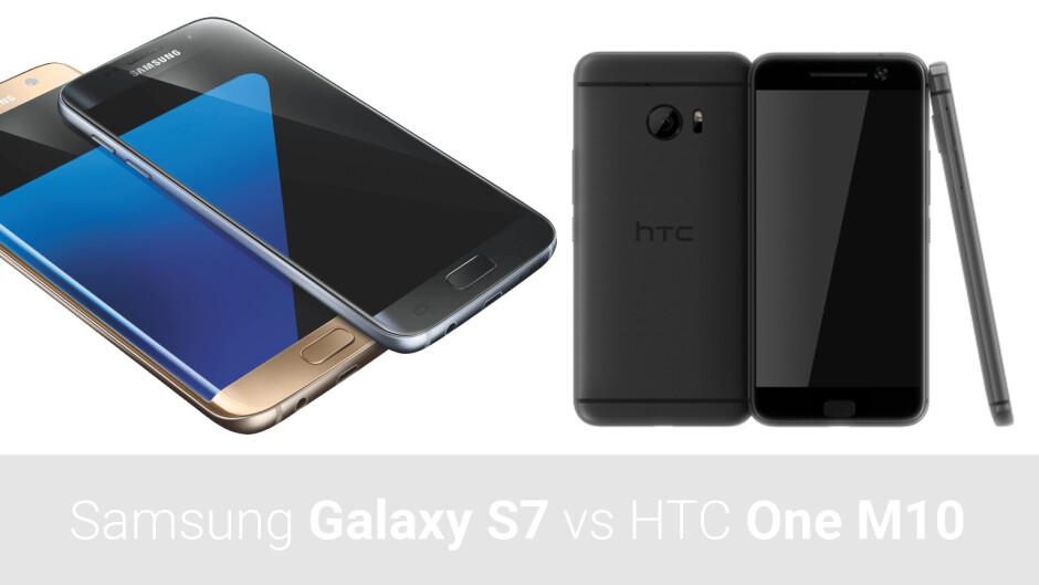 Samsung Galaxy S7 vs HTC One M10 Perfume: preliminary specs comparison