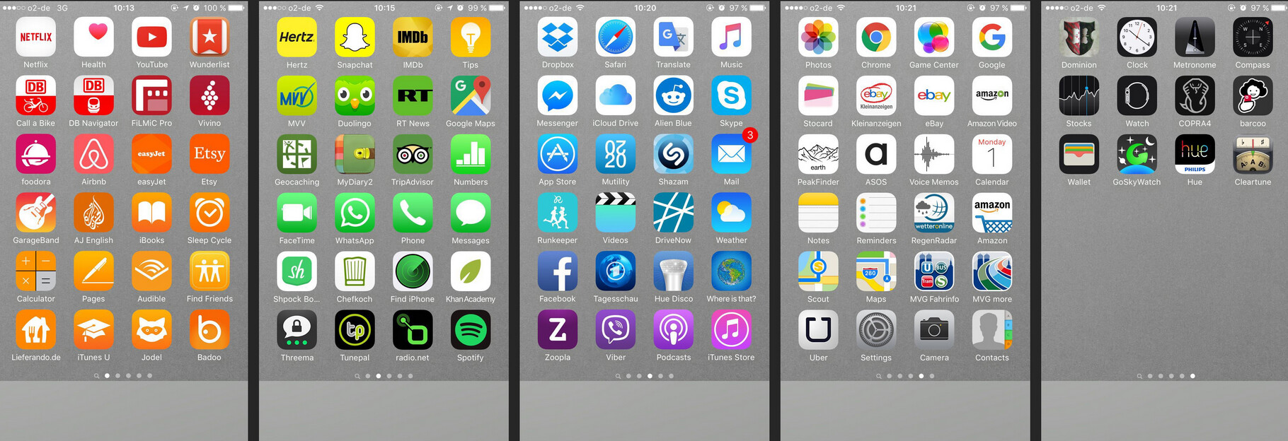 Arranging your iphone app icons by color might help you for How to design an iphone app