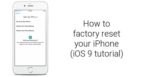 how to reset my iphone to factory settings image from how to factory reset apple iphone 6s and iphone 20975