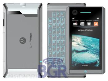Motorola Calgary has a RAZR-like QWERTY