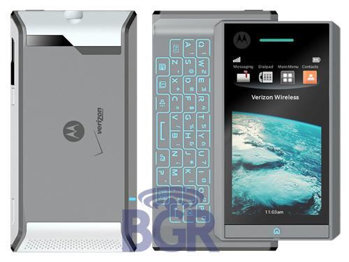 Motorola Calgary has a RAZR-like QWERTY - Motorola Calgary and IRONMAN to run on Android?