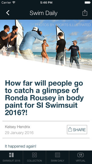 Sports Illustrated Swimsuit 2016 app