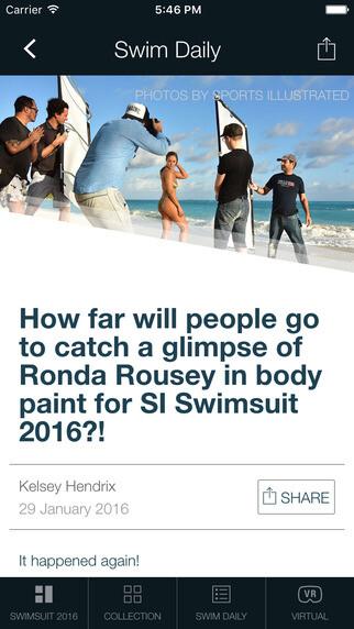 Sports Illustrated Swimsuit 2016 app
