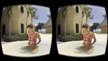 Swimsuit models... in VR