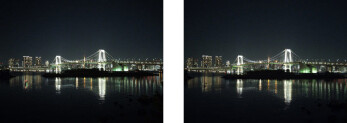 No drop in image quality from the IMX230 predecessor, Left 1.12μm unit pixel size, Right 1.0μm unit pixel size