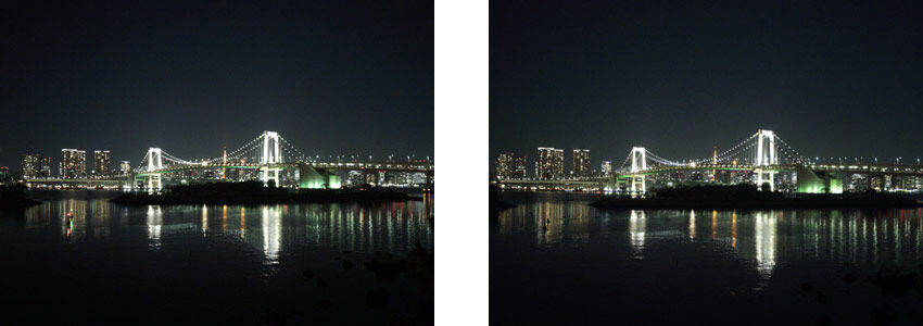 No drop in image quality from the IMX230 predecessor, Left 1.12μm unit pixel size, Right 1.0μm unit pixel size - Sony unveils new IMX318 22.5MP sensor: could this be the camera for the Xperia Z6?