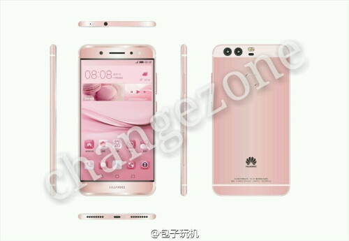 Alleged Huawei P9 renders