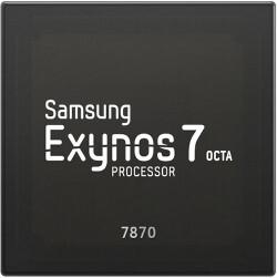 Samsung announces the 14nm Exynos 7 Octa 7870 processor
